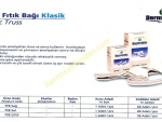 DERMATEKS TIBBİ KASIK / FITIK BAĞLARI